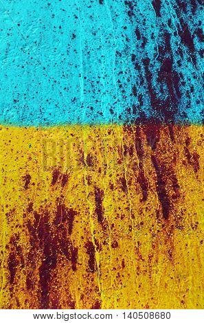 Colors of ukrainian flag