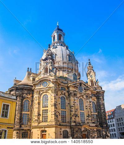 Frauenkirche Dresden Hdr