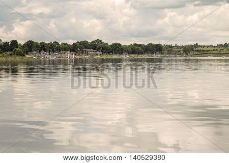 An image of a sailing club situated on the beautiful Rutland Water Rutland England UK