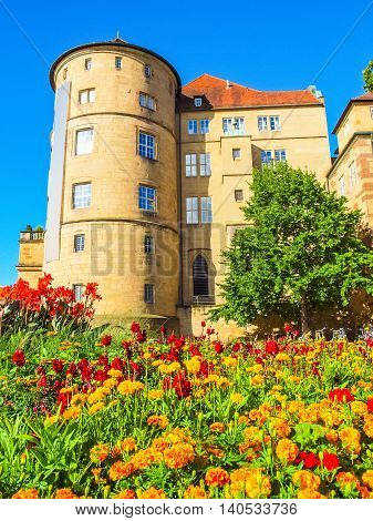 Altes Schloss (old Castle), Stuttgart Hdr