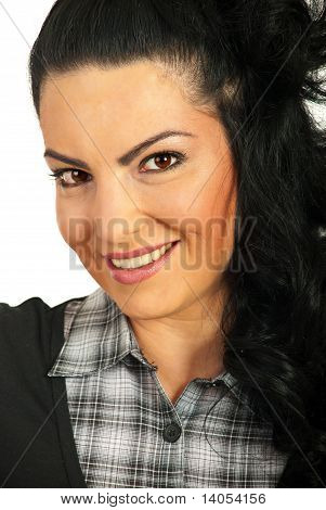 Porträt von lächelnd