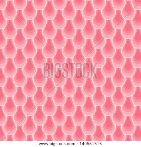 Repetition fish skin. Abstract stylish background. Wavy striped geometric mosaic texture. Vector pattern