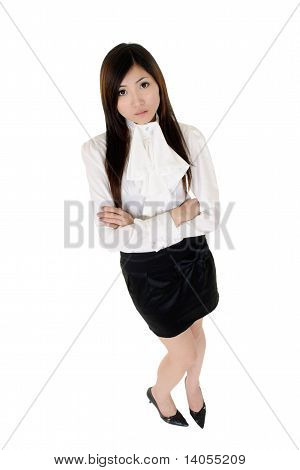 Asian Confident Business Woman