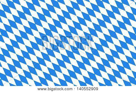 Bayern Rauten blau Hintergrund Oktoberfest Vektor Wiesn
