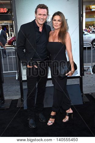 LOS ANGELES - JUL 19:  Jason O'Mara & Paige Turco arrives to the