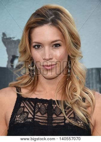 LOS ANGELES - JUL 19:  Alicia Vela-Bailey arrives to the