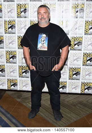 LOS ANGELES - JUL 21:  Luc Besson arrives to the Comic Con 2016 - Valerian and the City of a Thousand Planets PhotoCall on July 21, 2016 in San Diego, CA