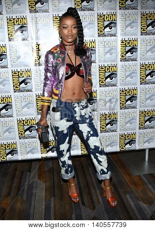 LOS ANGELES - JUL 22:  Keke Palmer arrives to the Comic Con 2016 -