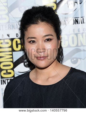 LOS ANGELES - JUL 22:  Jadyn Wong arrives to the Comic Con 2016 - CBS PhotoCall on July 22, 2016 in San Diego, CA