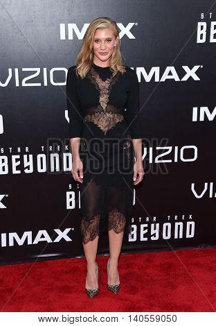 LOS ANGELES - JUL 20:  Katee Sackhoff arrives to the