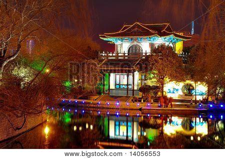 Templo en jinan china