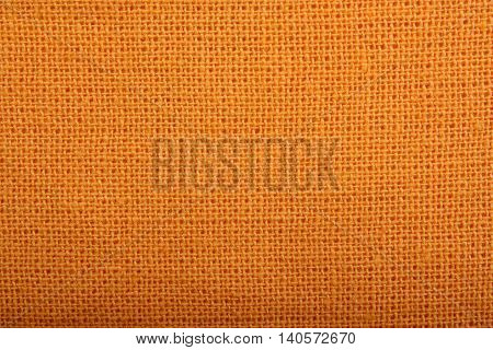 Natural linen gold material texture background golden