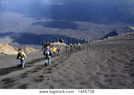 Etna, The Descent