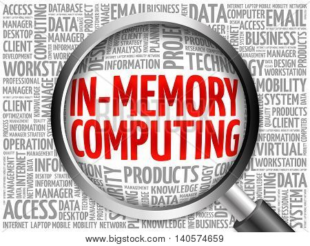 In-memory Computing Word Cloud