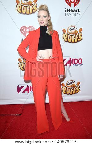 NEW YORK-DEC 12: Singer Iggy Azalea attends Z100's Jingle Ball 2014 at Madison Square Garden on December 12, 2014 in New York City.