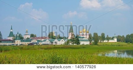 monastery of the Iberian Mother of God in the Holy lake of Valdai