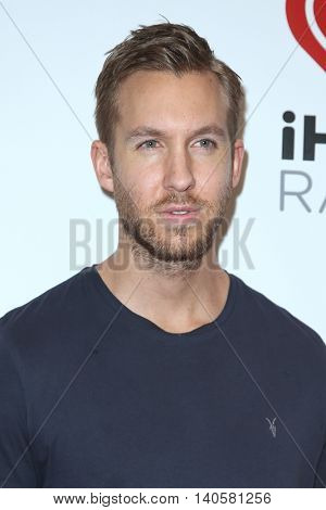 NEW YORK-DEC 12: DJ Calvin Harris attends Z100's Jingle Ball 2014 at Madison Square Garden on December 12, 2014 in New York City.
