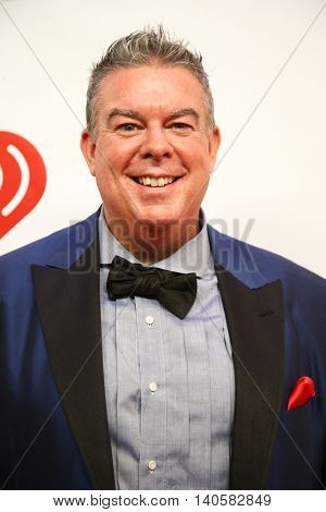 NEW YORK-DEC 12: Radio host Elvis Duran attends Z100's Jingle Ball 2014 at Madison Square Garden on December 12, 2014 in New York City.