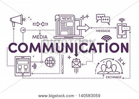 Linear Illustration Communication