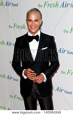 NEW YORK-MAY 29: Jay Manuel attends the Fresh Air Fund Spring Gala Salute at Pier Sixty at Chelsea Piers on May 29, 2014 in New York City.