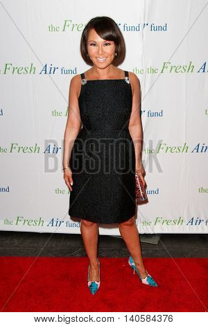 NEW YORK-MAY 29: Alina Cho attends the Fresh Air Fund Spring Gala Salute at Pier Sixty at Chelsea Piers on May 29, 2014 in New York City.