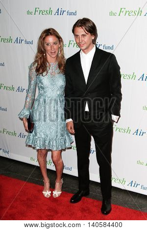 NEW YORK-MAY 29: Jonathan Cheban (R) and guest attend the Fresh Air Fund Spring Gala Salute at Pier Sixty at Chelsea Piers on May 29, 2014 in New York City.