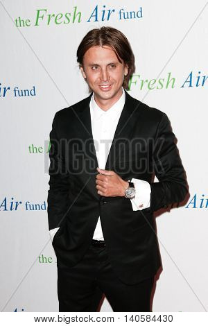 NEW YORK-MAY 29: Jonathan Cheban attends the 2014 Fresh Air Fund Spring Gala Salute at Pier Sixty at Chelsea Piers on May 29, 2014 in New York City.