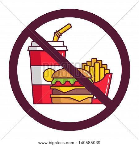Danger! No Fast Food