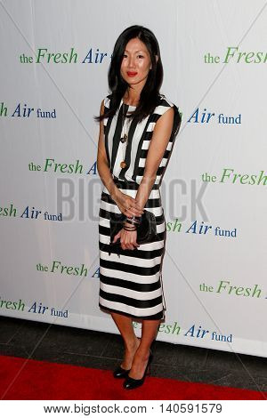 NEW YORK-MAY 29: Designer Marissa Webb attends the Fresh Air Fund Spring Gala Salute at Pier Sixty at Chelsea Piers on May 29, 2014 in New York City.