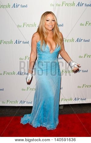 NEW YORK-MAY 29: Recording artist and honorree Mariah Carey attends the Fresh Air Fund Spring Gala Salute at Pier Sixty at Chelsea Piers on May 29, 2014 in New York City.