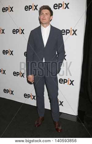 LOS ANGELES - JUL 30:  Chris Lowell at the EPIX Television Critics Association Tour Photo Line at the Beverly Hilton Hotel on July 30, 2016 in Beverly Hills, CA