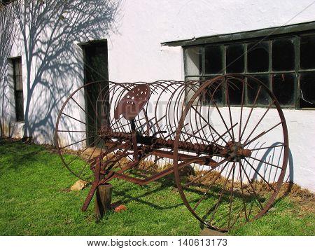 Storing Old Rusty Farm Equipment