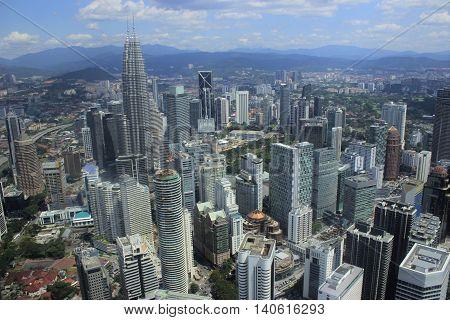 Kuala Lumpur , Menara Tower viewpoint 2016