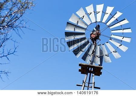 The Windmill Turns In Cradock