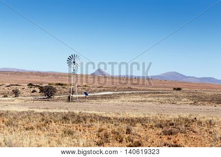 New Technology Windmill - Cradock Landscape