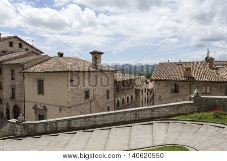 A View Of Gubbio City