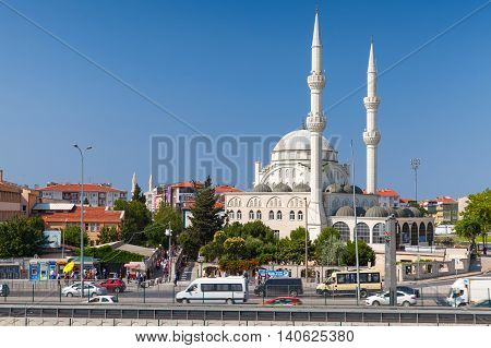Exterior Of Haci Ahmet Tukenmez Mosque, Istanbul