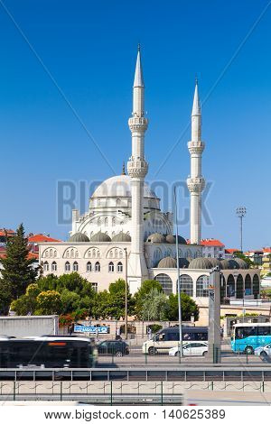 Facade Of Haci Ahmet Tukenmez Cami, Istanbul