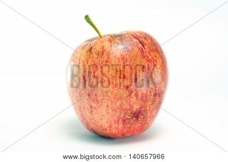 Apple Fruit Isolated On White Background
