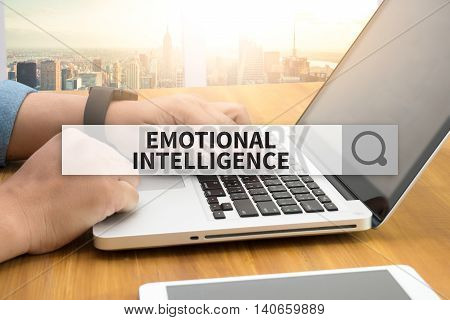 EMOTIONAL INTELLIGENCE SEARCH WEBSITE INTERNET SEARCHING computer top