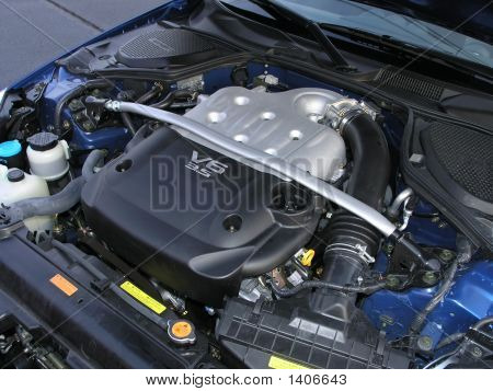 Sports Car Engine V6