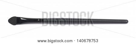 Concealer makeup brush isolated over the white background
