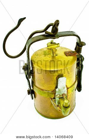 Old Carbide Miners Lamp