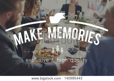 Memories Remember Storage Mind Recalling Concept