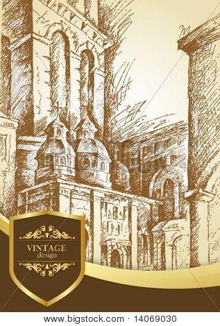 vintage city poster