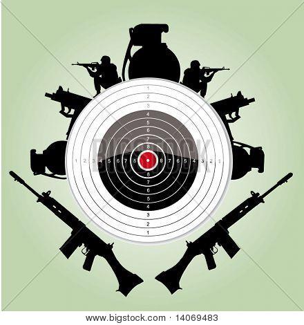 vector target sign
