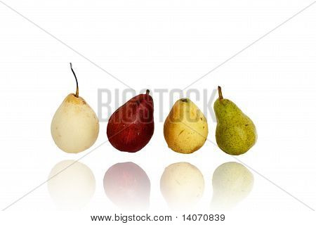 Pears Of Different