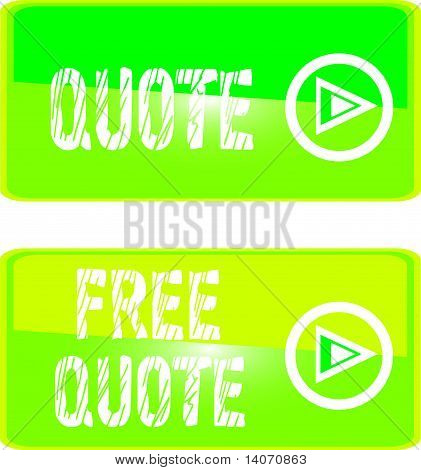 green web sign free  quote