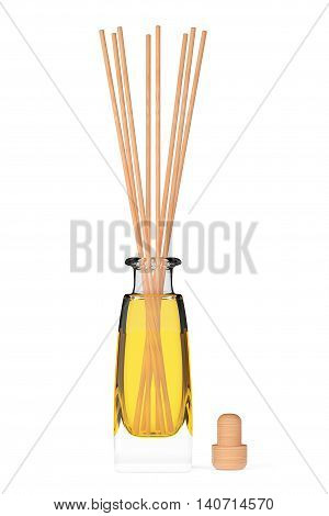 Aromatherapy Air Freshener on a white background. 3d Rendering