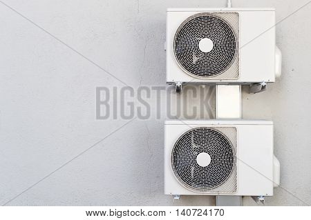 Two Compressors Of Air Conditioners